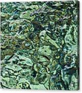 Underwater Rocks - Adriatic Sea Acrylic Print
