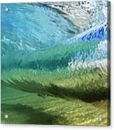 Underwater Wave Curl Acrylic Print by Vince Cavataio - Printscapes