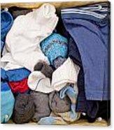 Underwear And Socks Acrylic Print by Tom Gowanlock