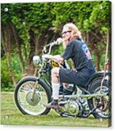 Uneasy Rider Acrylic Print