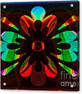 Unequivocal Truths Abstract Symbols Artwork Acrylic Print