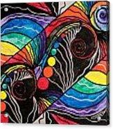 Unfold Acrylic Print by Teal Eye  Print Store