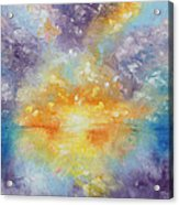 Unforeseen Kiss Acrylic Print