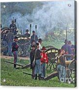 Union Artillery Battery Acrylic Print