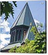 Union Collage Church Acrylic Print