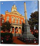 Union County Court House Acrylic Print