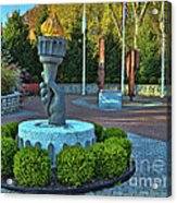 Union County N J 9-11 Memorial  Acrylic Print