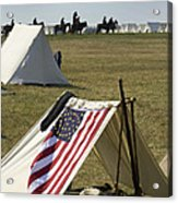 Union Encampment Acrylic Print