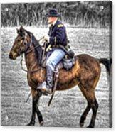 Union Horse Officer Acrylic Print