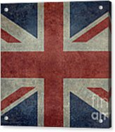 Union Jack 3 By 5 Version Acrylic Print