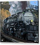 Union Pacific 4-8-8-4 Big Boy Acrylic Print