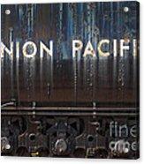 Union Pacific - Big Boy Tender Acrylic Print