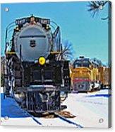 Union Pacific Challenger Acrylic Print