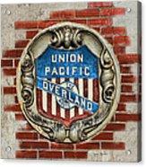 Union Pacific Crest Acrylic Print