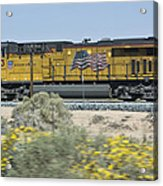 Union Pacific Acrylic Print