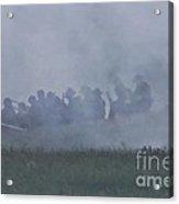 Union Skirmish Line Acrylic Print