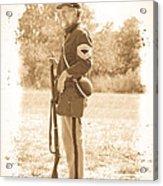 Union Soldier Acrylic Print