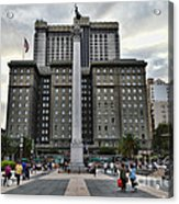 Union Square Courtyard Acrylic Print
