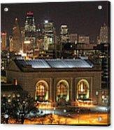 Union Station At Night Acrylic Print