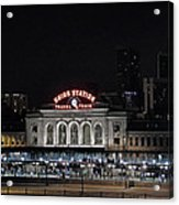 Union Station Denver Colorado 2 Acrylic Print