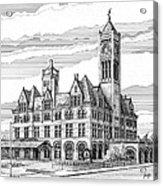 Union Station In Nashville Tn Acrylic Print
