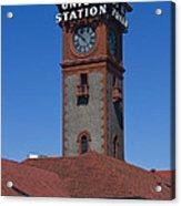 Union Station In Portland Oregon Acrylic Print