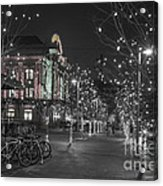 Union Station In The Winter Acrylic Print