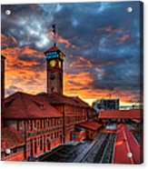 Union Station Portland Oregon Acrylic Print