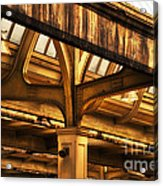 Union Station Roof Structure Acrylic Print
