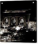 Union Station Sepia Acrylic Print