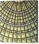 Union Station Skylight Acrylic Print