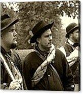 Union Troops Awaiting Orders - Brandenburg Ky Acrylic Print