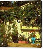 Unionville Summer Home Circa 1880 Acrylic Print