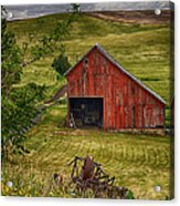 Unique Barn In The Palouse Acrylic Print