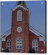 United Methodist Church Lowville Ny Acrylic Print