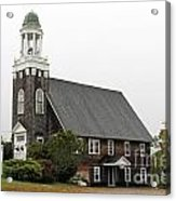 United Methodist Church New Harbor Maine Acrylic Print