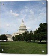 United State Capitol  Washington Dc Acrylic Print