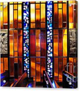 United States Air Force Academy Cadet Chapel Detail Acrylic Print