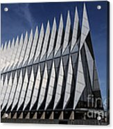 United States Air Force Academy Cadet Chapel Acrylic Print