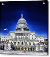 United States Capitol Building Acrylic Print