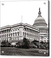 United States Capitol Senate Wing Acrylic Print