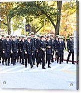 United States Naval Academy In Annapolis Md - 121240 Acrylic Print by DC Photographer