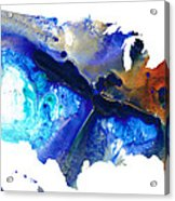 United States Of America Map 7 - Colorful Usa Acrylic Print