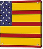 United States Of Iberia Acrylic Print