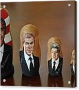 United States Presidents Acrylic Print