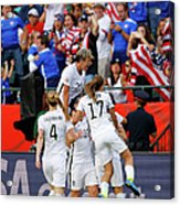 United States V Colombia Round Of 16 - Acrylic Print
