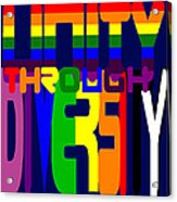 Unity Through Diversity Acrylic Print