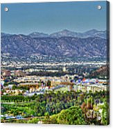 Universal City Warner Bros. Studios Clear Clear Day Acrylic Print