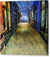 Universe Alley Acrylic Print