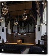University Auditorium And The Anderson Memorial Organ Acrylic Print